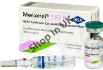 UK shop selling MERIONAL 150 IU with immediate shipping