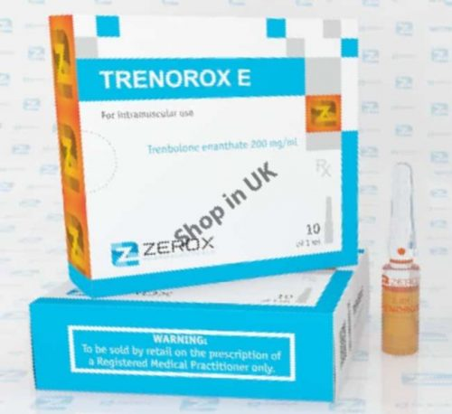UK shop selling TRENOROX E with immediate shipping